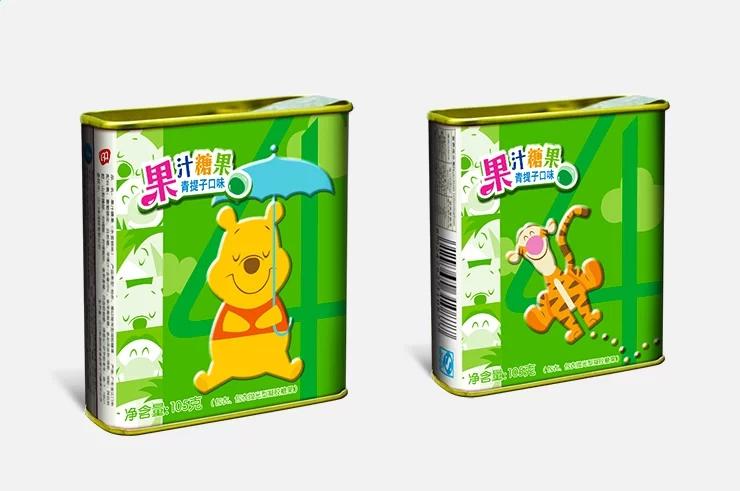 澳崎食品迪士尼系列糖果包装